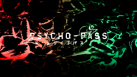 Psycho Pass Abstract Wallpaper by MisterRecord