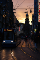 Amsterdam at dusk by KevinConsen