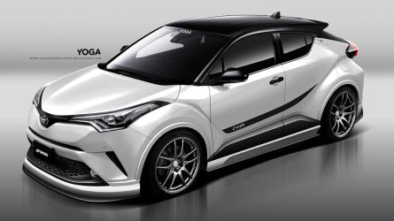 Toyota x Work Wheels C-HR by YogaBudiwCUSTOM