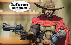 McCree Commission by ConstantScribbles