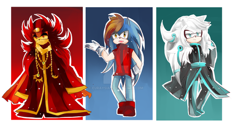 Sonic Panty and Stocking Style by Auroblaze on DeviantArt