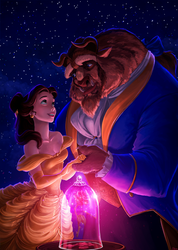 Beauty and the Beast by elaina-f