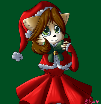 :persona: Christmas outfit by Sofua