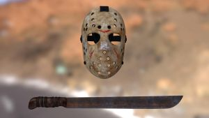 Friday the 13th Props - Texture WIP by Rafael-De-Jongh