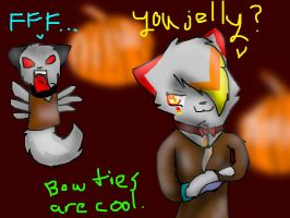 Bow Ties Are Cooler - Entry from JB-Pawstep by Emberdahkitteh
