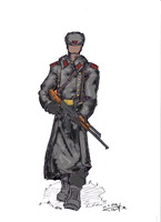 russian soldier 01 color by Stachir