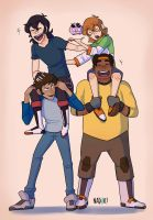 Form Voltron!! by Chipiron