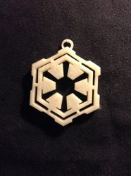 3d Modelled and Printed Pendant by Grim-Inc