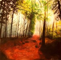 Autumn forest by RKoneGNS