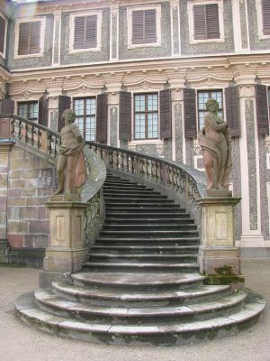 Places 502 castle stairs by Dreamcatcher-stock