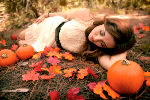 Pumpkin Patch Princess by SimpleBeauty