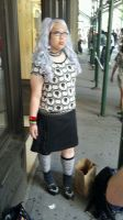 Living Dead Doll at Gay Pride by TheSpazOutLoud
