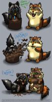Birfday Blobs by Nashoba-Hostina