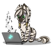 zebra Poe by Ashley-Arctic-Fox