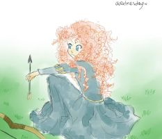 Merida- The Brave by WednesdayLiveInAWord