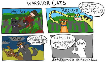 Warriors Cats is For Kids by bestsk8eva