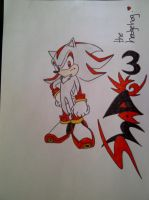 Shadow the hedgehog by XSilentSuicideX