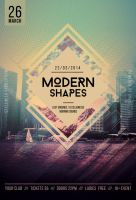 Modern Shapes Flyer by styleWish
