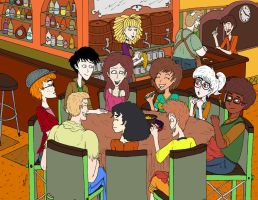 Any Kind: Afterschool Get-Together by magusVroth