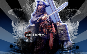 Jack Sparrow by Gatewhale
