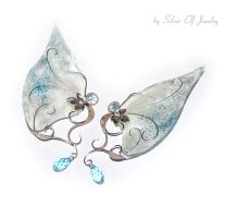 Ice princess elf ears by Lyriel-MoonShadow
