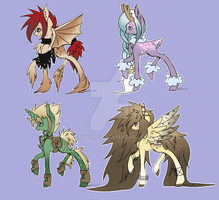 :Pony Adopts: Random point Adopts by AzrealRou