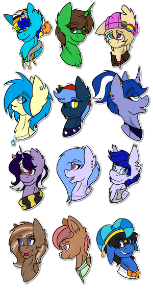 So Many Ponies! by Spitfire-SOS