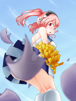 Cheer Sonico [censored] by StalkingP
