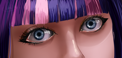 Eyes by colorfulkitten
