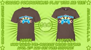Play With Me tee preorder by quazo