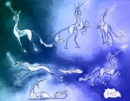 Unicorn Concepts by AmyVsTheWorld