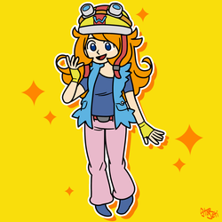 Mona as Wario by StarjetiPlays