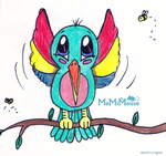 Hummingbird Flapping by MeMiMouse