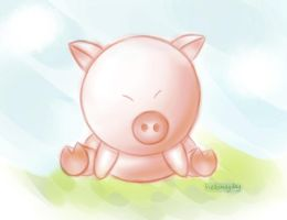 This little pig by HelloMayday
