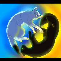 .:Yin And Yang:. :COLLAB: by catpain