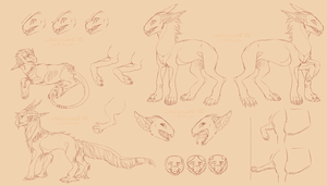 Species concept sketches  OUTDATED by LordMarlon