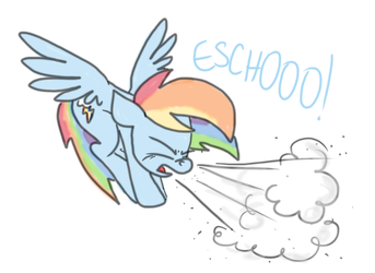 Just A Dash of Spray by RainySunshineArt