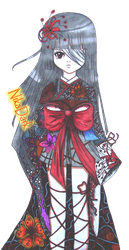 Enma Ai new dress by Lovely-Nicole