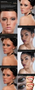 Professional Retouching Actions Kit by GraphicAssets