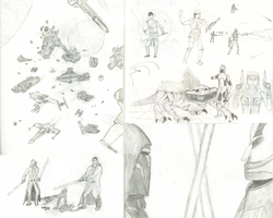 Star Wars Fan Art Sketches 2 by Riot-Inducer