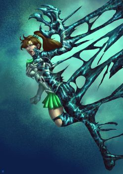 Sailor Jupiter Symbiote by cric