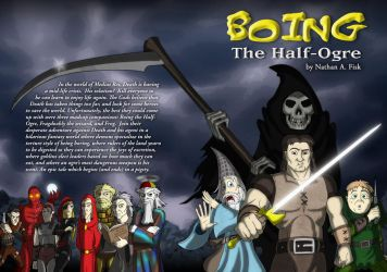 Boing The Half-Ogre Cover Art by Slyrr