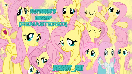 Fluttershy's Dubstep [REMASTERED] Cover/Wallpaper by brightrai