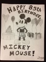 Happy 85th Birthday, Mickey Mouse! by WishExpedition23