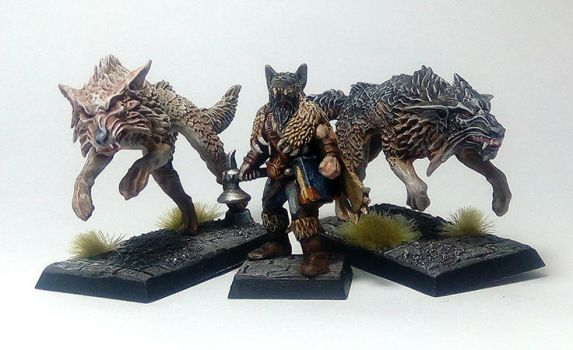 Mord Wolf Priest of ulric and wolves by Nordic-Dragon