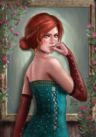 Triss Merigold by CleverBoi