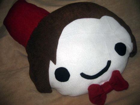 Doctor Who - Eleventh Doctor - Plushie Pillow by DarlingArmy