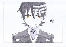 Death the Kid (Soul Eater) by BlackStarLGArt