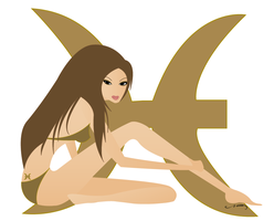 Pisces by paintmepinkshop