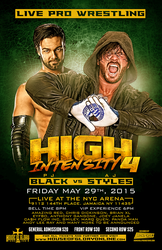 House of Glory Wrestling - High Intensity 4 by TheIronSkull